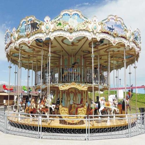 fabricant carrousel double étage