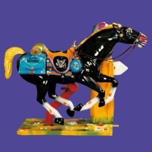 Manège automatique - Cheval Galopant