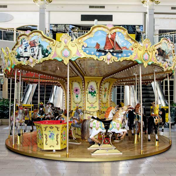 Fournisseur manège carousel