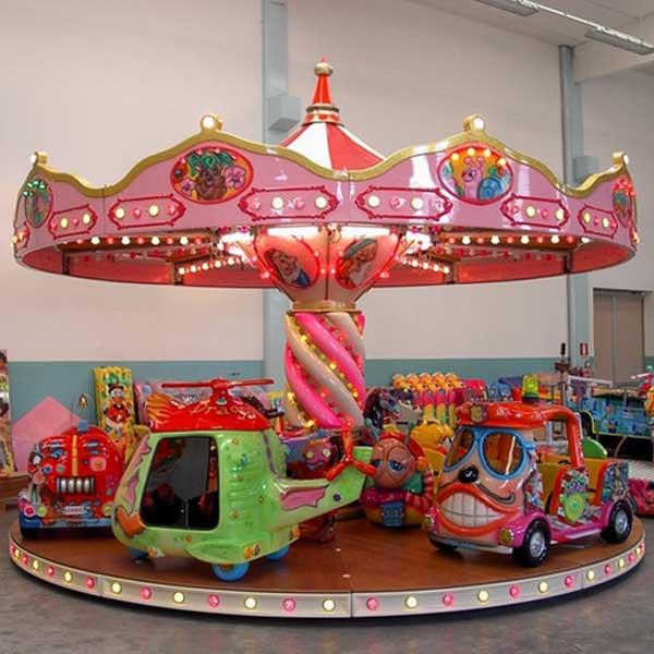 Manège tournant - carrousel pour centres commerciaux