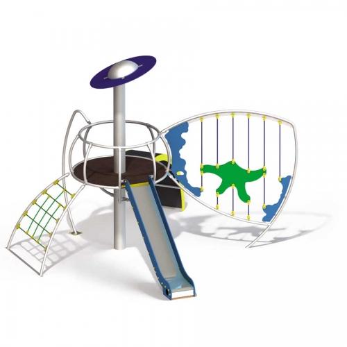 Aire de jeux pour mairie et camping : Terre