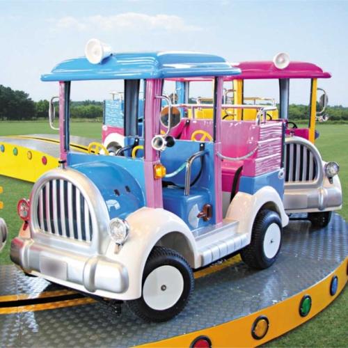 Convoy - Manège pour parcs d'attractions et parcs animaliers
