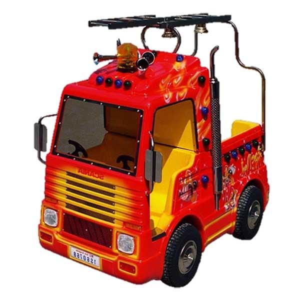 Manège camion de pompier
