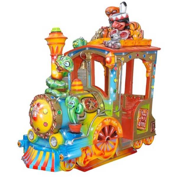 "Sujet de manège : Locomotive ""Loco India"""