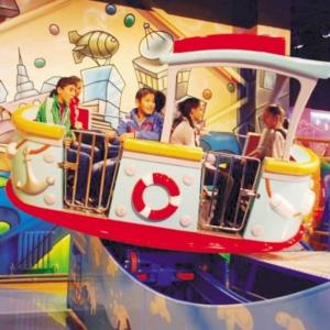 Bateau Twister pour parc d'attractions