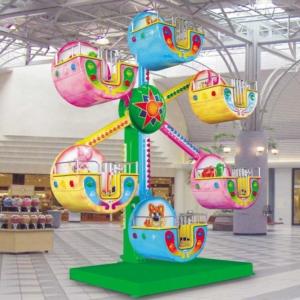 Mini roue 5 ou 6 bras pour parc d'attractions