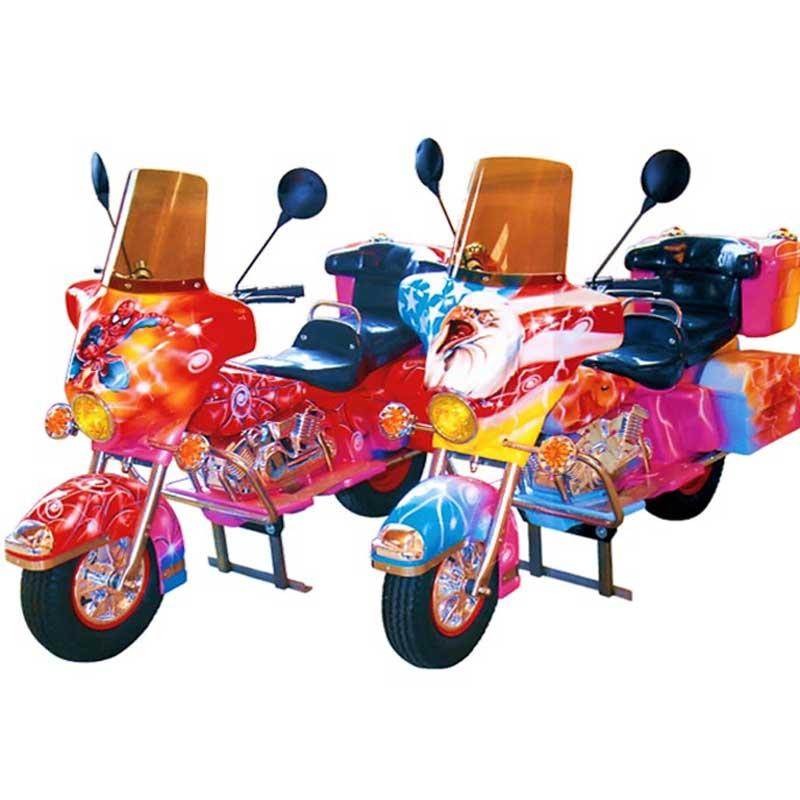 Sujet de manège moto