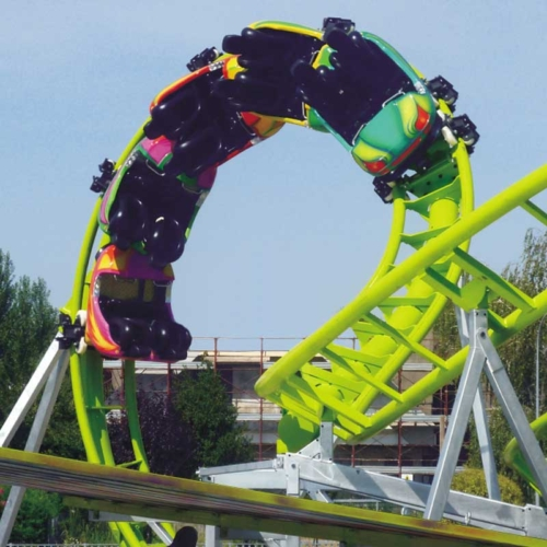 Roller Coaster - Manège pour parc d'attraction
