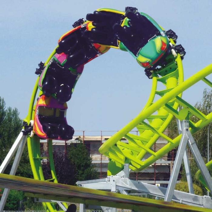 Roller Coaster - Manège pour parc d'attraction