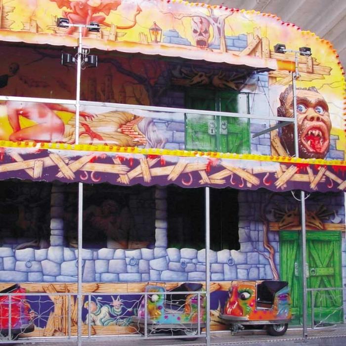 Maison hantée - fabricant parc attraction