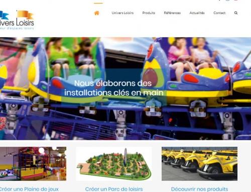 Un nouveau site internet pour Univers Loisirs