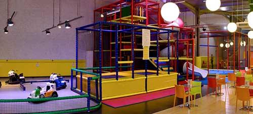 Créer une plaine de jeux Indoor
